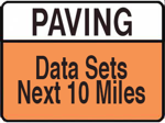 Paving Road Construction Sign Royalty Free Clipart Picture 090626 203307 625048
