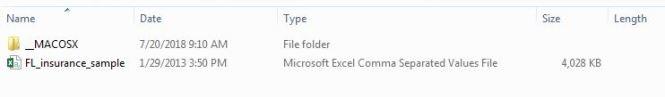 csv folder